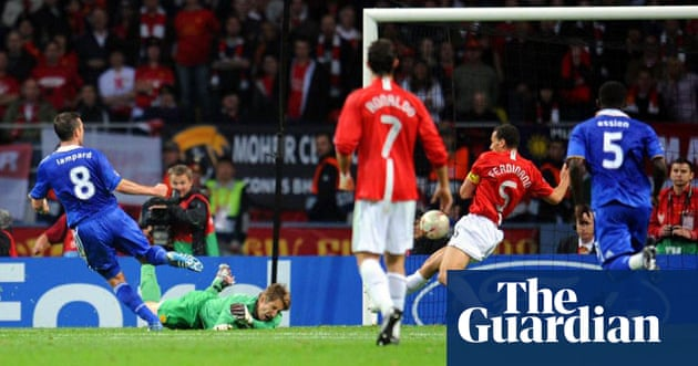 Champions League final 2008: Manchester United v Chelsea