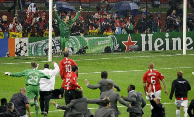 Champions League Final 2008 Manchester United V Chelsea Football The Guardian