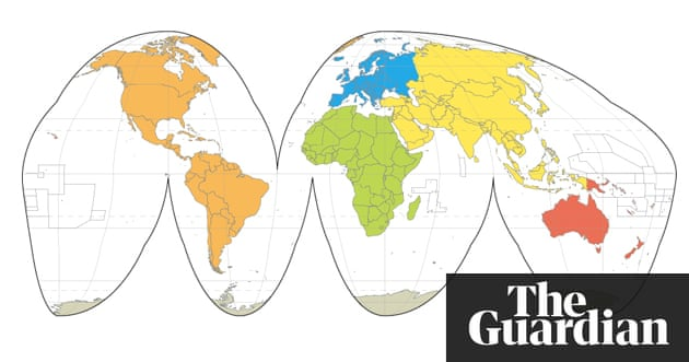 World maps mercator goode robinson peters and hammer science world maps mercator goode robinson peters and hammer science the guardian gumiabroncs Images