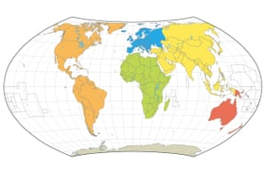 World maps mercator goode robinson peters and hammer science hammer 1892 gumiabroncs Choice Image