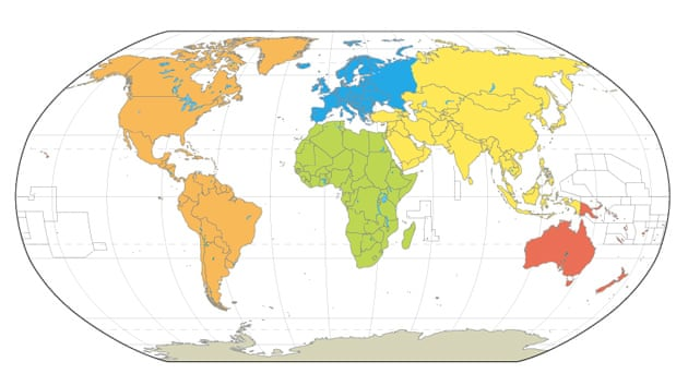 World Maps Mercator Goode Robinson Peters And Hammer Science - Globe maps of the world