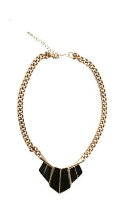 Black and gold necklaces