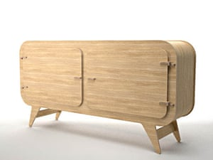 Unto This Last Sideboard Ply Feet, £330