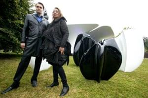 Patrik Schumacher and Zaha Hadid