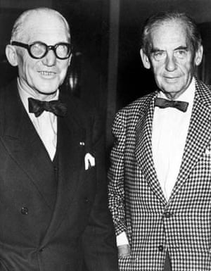 Walter Gropius and Le Corbusier