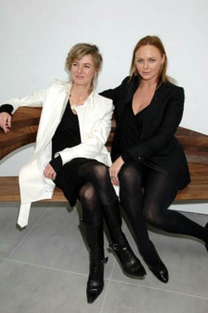 Amanda Levete and Stella McCartney