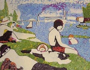 Chocolate paintings