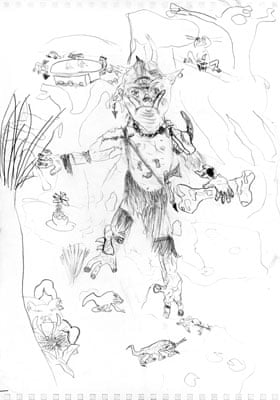 Comic competition Monster entries