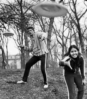 inter collegiate Frisbee Championship at Northwestern University In Evanston
