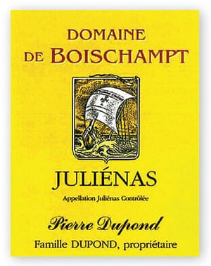 Juliénas Domaine de Boischampt