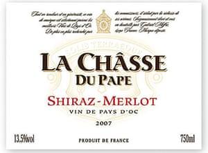 La Châsse du Pape Shiraz Merlot