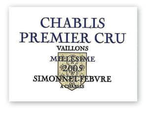 Simonnet-Febvre Chablis
