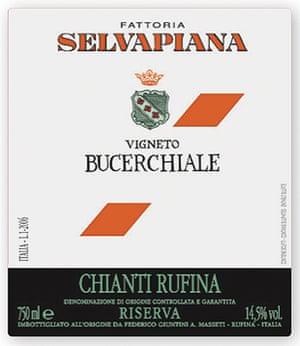 Marks & Spencer Selvapiana Chianti Rufina Riserva