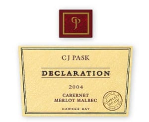 CJ Pask Declaration