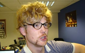Readers' moustaches