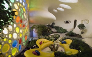 House designed by Mexican architect Javier Senosiain