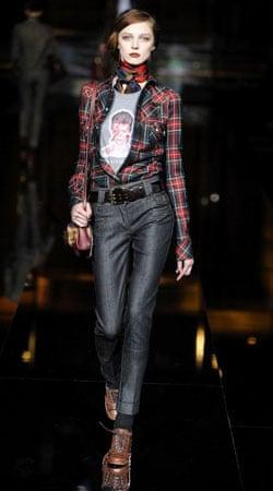 D&G tartan shirt