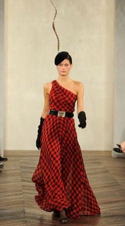 Tartan dress from Ralph Lauren