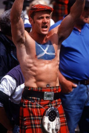 Scottish football supporter