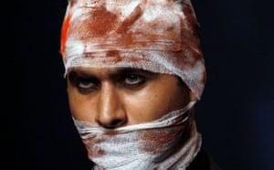 Narendra Kumar at Indian fashion week