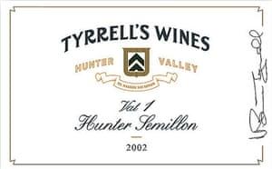 Tyrrell's Vat 1 Hunter Semillon