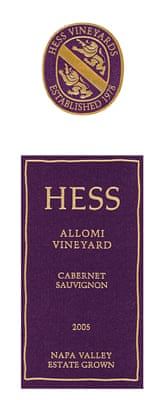 Hess Allomi Vineyard