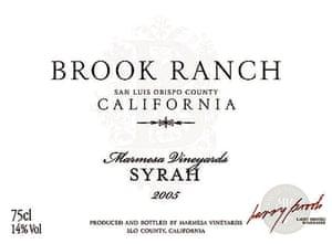 Brook Ranch Syrah