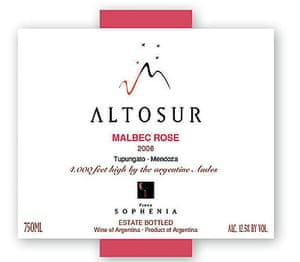 Altosur Malbec Rosé