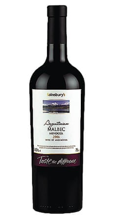 Sainsbury's Taste the Difference Argentinian Malbec