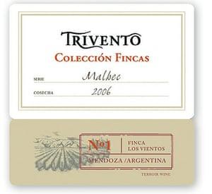 Trivento Colecció n Fincas No1