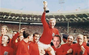 Purnell with the 1966 World Cup squad