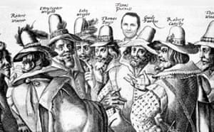 Purnell with Guy Fawkes