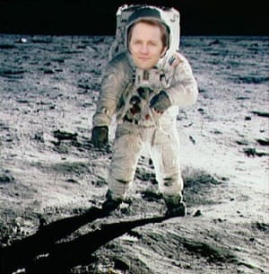 Purnell at the moon landings