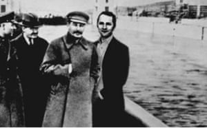 Purnell with Stalin