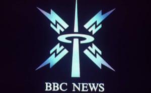 BBC News logo in 1988