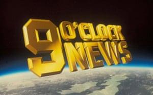 Nine O'Clock News logo in 1988