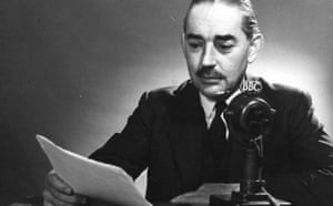 John Snagge in 1954