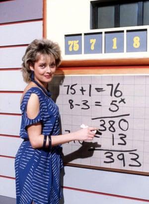 Carol Vorderman on countdown 1984