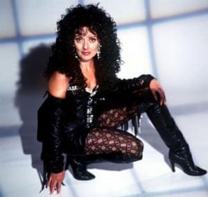 Carol Vorderman as Cher in 'Stars in Their Eyes'
