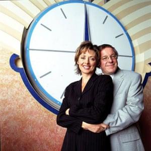 Carol Vorderman and Richard Whiteley on Countdown