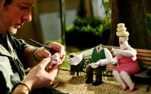 Wallace & Gromit: A Matter of Loaf and Death - filming