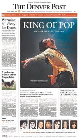 Michael Jackson death: Denver Post