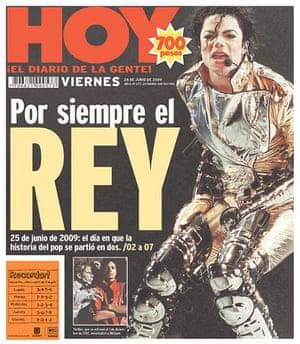 Michael Jackson death: Hoy, Bogota