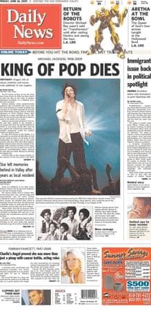 Michael Jackson death: LA Daily News
