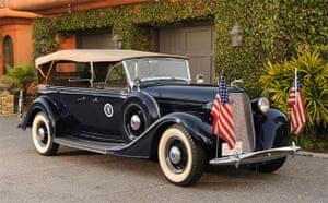 Franklin D. Roosevelt 1935 Lincoln