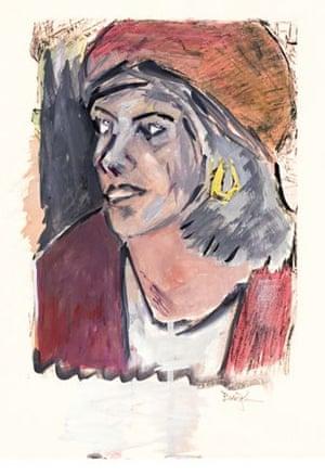 Bob Dylan painting