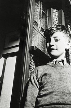 Lennon as a boy