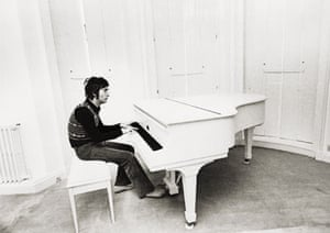 Lennon and piano