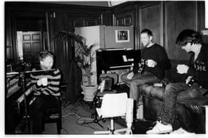 Radiohead in the studio, 2007