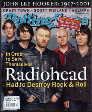 Radiohead in Rolling Stone